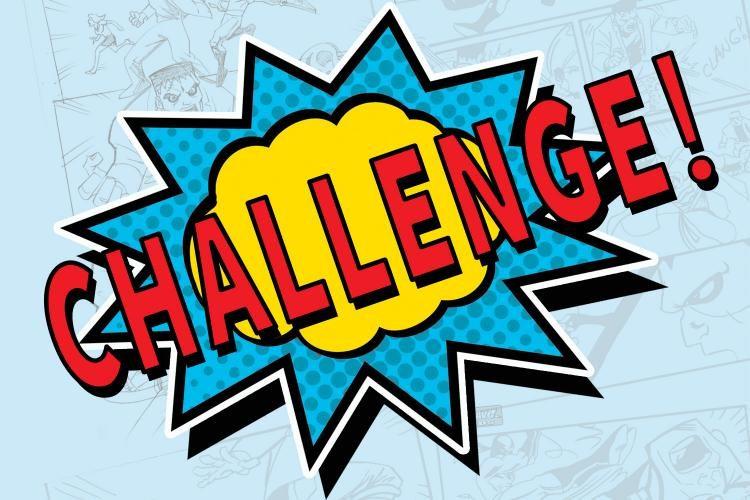 Nieuwe maand, nieuwe challenge!